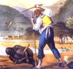 Escravo sendo castigado